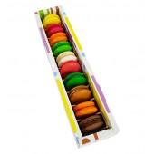 Kutuda 10 adet Macaron
